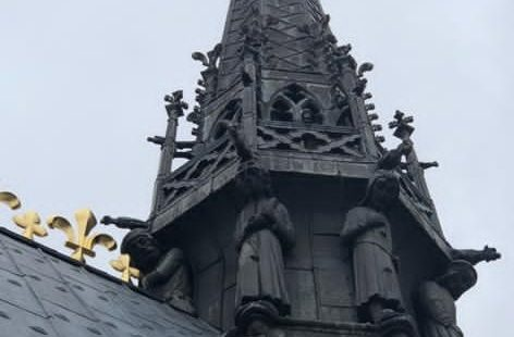 Spire with Leadwork